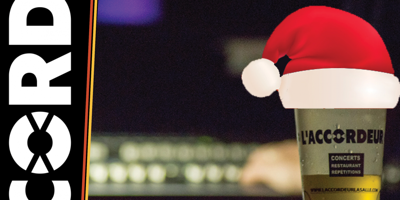 Les bénévoles aux commandes de la fête de Noël !