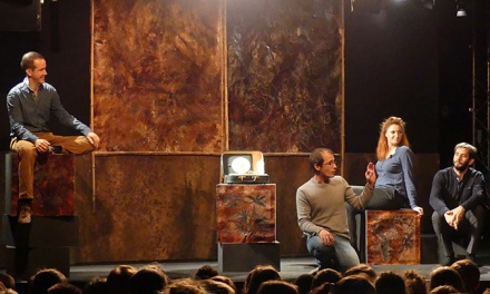 Plus de 400 élèves ont pu découvrir les spectacles jeune public de la Cie L'Aurore