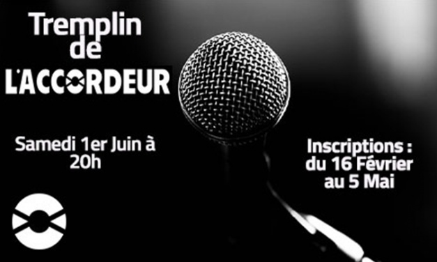 Lancement des inscriptions au tremplin de l'Accordeur !