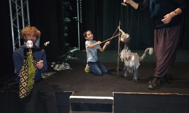 Imagine : Début des ateliers Marionnettes avec la Cie l'Aurore