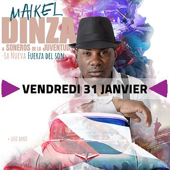 Maïkel Dinza + DJ @ l'Accordeur