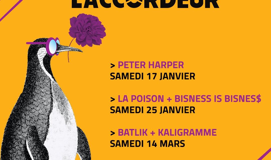 Des places à gagner pour Peter Harper, La Poison, Batlik et Lofofora !