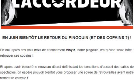 En Juin bientôt le retour du pingouin (et des copains ?) !