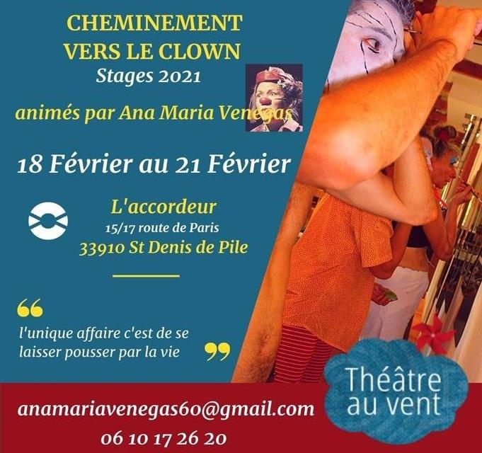 Stage de clown en février : renseignements & inscription