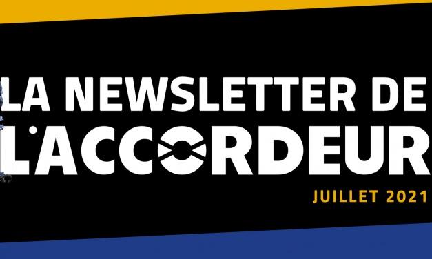 Découvrez la newsletter de Juillet