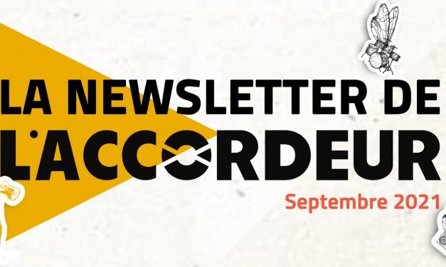 Découvrez notre newsletter de Septembre