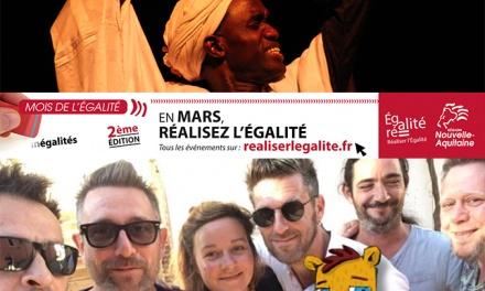 Mars : mois de l'égalité en Nouvelle-Aquitaine