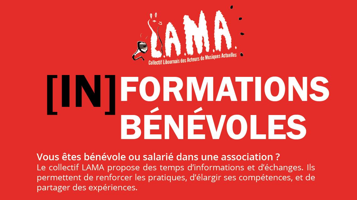 [In]Formations bénévoles avec le LAMA !