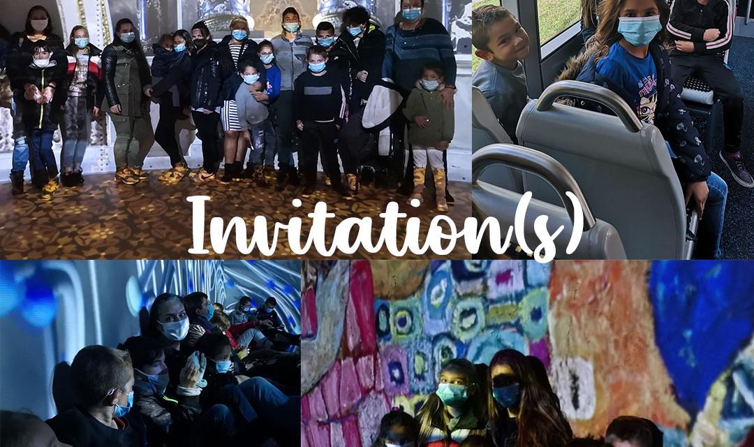 Journée à Bordeaux avec le projet d'action culturelle Invitation(s)