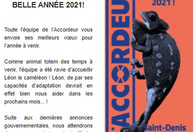 Consultez la newsletter Janvier 2021
