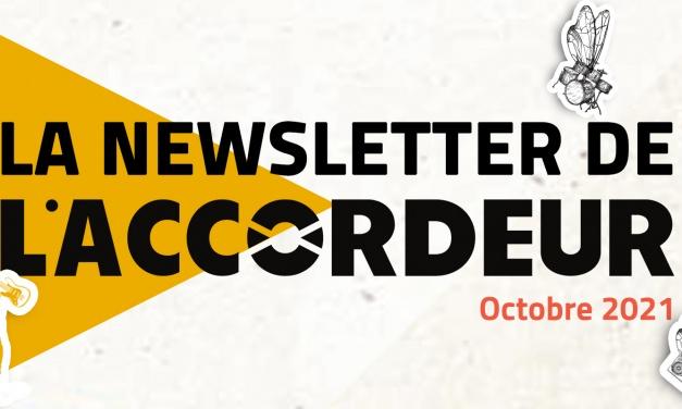 Découvrez la newsletter d'octobre